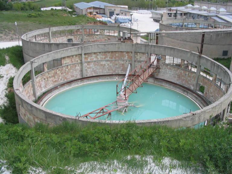 Обследване на промишлена система пречиствателна станция за отпадни води